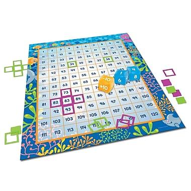 Learning Resources® Make a Splash™ 120 Floor Mat Game, Grades 1+