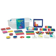 Learning Resources® Rainbow Fraction Teaching System Kit, Grades 1+