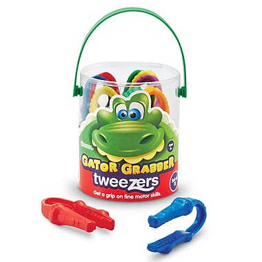Learning Resources® Gator Grabber Tweezer, 12/Set