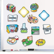 Learning Resources® Magnetic Subject Labels