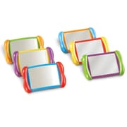 "Learning Resources® All About Me 4"" x 6"" 2 In 1 Mirror Set"