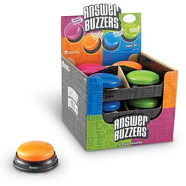 Learning Resources® Answer Buzzers, 12/Set