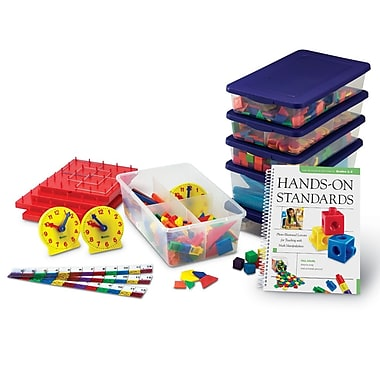 Learning Resources® Hands-On Standards® Book & Kit Bundle, Grades 1st - 2nd