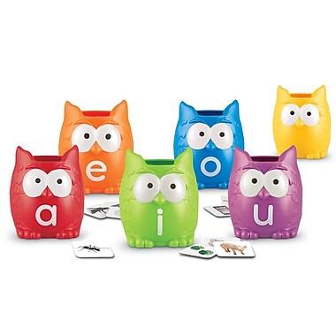 Learning Resources® Vowel Owls™ Sorting Set, Grades PreK-4