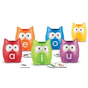 Learning Resources® Vowel Owls™ Sorting Set, Grades PreK-4