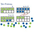 Learning Resources® Giant Magnetic Ten Frame Set