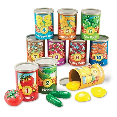 Learning Resources® 1 to 10 Counting Cans