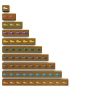 Learning Resources® Cuisenaire® Jr. 20 Piece Ants On A Log Set