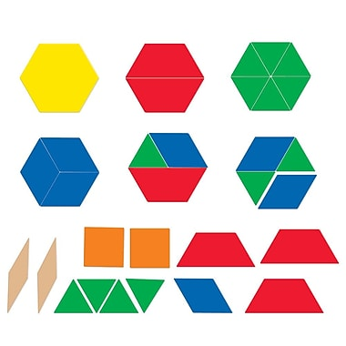 Learning Resources® Magnrtic Pattern Blocks