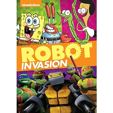 Nickelodeon: Robot Invasion! (DVD)