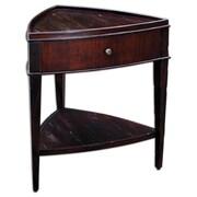 Uttermost Dakuri 29 x 27 x 25 Wood Accent Table, Mahogany