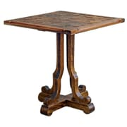 Uttermost Lucy 26 x 24 x 24 Mango Wood End Table, Brown