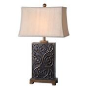 "Uttermost Lavinta 33"" Table Lamp, Dark Bronze"