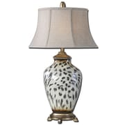Uttermost Malawi 34 Table Lamp, Cheetah Print