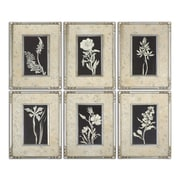 Uttermost Grace Feyock 6-Piece Glowing Florals Framed Wall Art