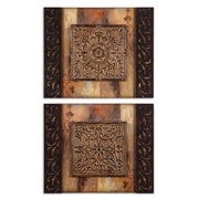 Uttermost Grace Feyock 2-Piece Ornamentational Block Frameless Panel