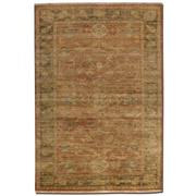 Uttermost Eleonora Hand Knotted New Zealand Wool Rug, 8' x 10', Rust Red/Olive Green