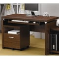 Wildon Home   Castle Pines Computer Desk; Oak