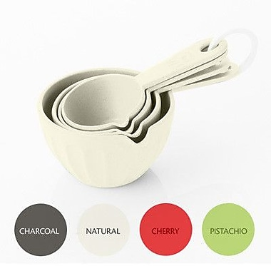 Natural Home Moboo Ribbed Measuring Cup; Mulicolor