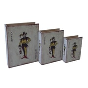 Cheungs 3 Piece Nested Joker Book Box Set