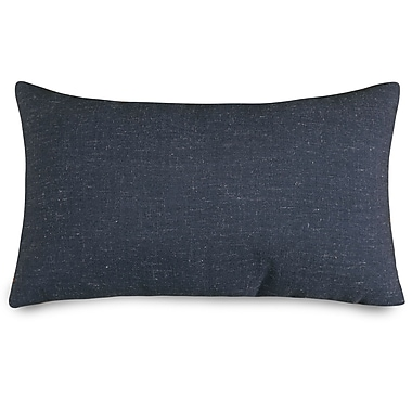 Majestic Home Goods Wales Lumbar Pillow; Navy