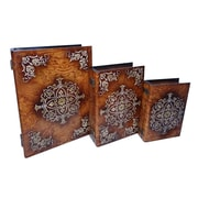 Cheungs 3 Piece Box with Raised Resin Accent Set