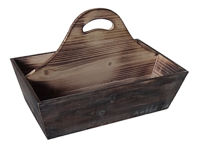 Cheungs Shabby Wooden Storage Caddy