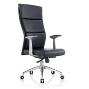 Whiteline Imports Harvard High-Back Executive Office Chair; Black