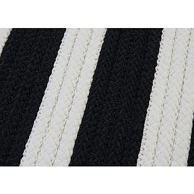 Colonial Mills Stripe It Black White Sample Swatch