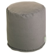 Majestic Home Products Wales Small Pouf; Gray