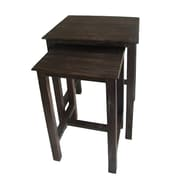 Cheungs Shabby 2 Piece Nesting Tables