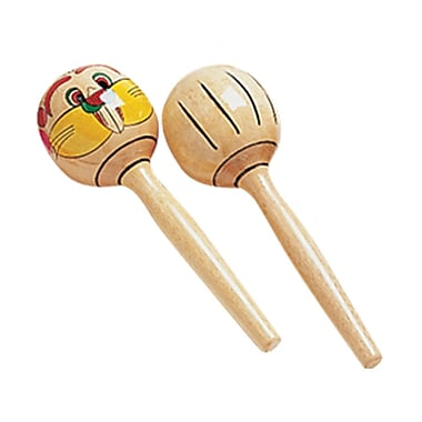 SUZUKI WM-200 Wood Maracas 3 Bundle