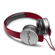 Sol Republic 1241 Tracks HD V10 On-Ear Headphone, Red