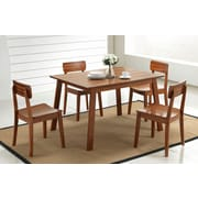 Boraam Zebra Series, 5-Piece Hagen Dining Set
