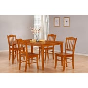 Boraam 5-Piece Shaker Dining Set