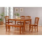 Boraam 6-Piece Shaker Dining Set