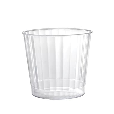 Fineline Settings Renaissance 2409 Crystal Rock Tumbler-, Clear