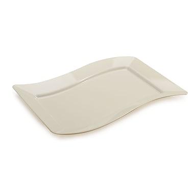 Fineline Settings Wavetrends 1407-BO Luncheon Plate, Bone