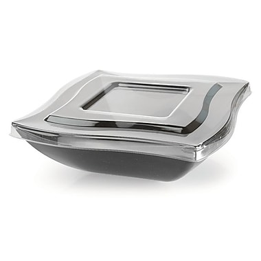 Fineline Settings Wavetrends 128-L Serving Bowl, Clear