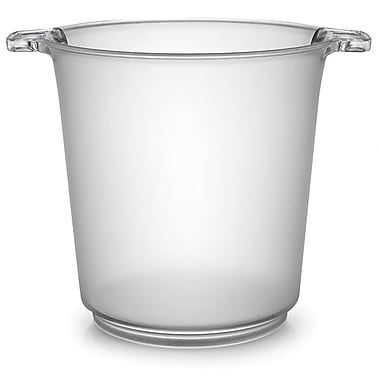 Fineline Settings Platter Pleasers 3403 Clear Ice Bucket