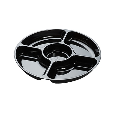 Fineline Settings Platter Pleasers 3506 Five Compartment Tray