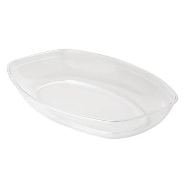 Fineline Settings Platter Pleasers 3525 Luau Bowl, Clear