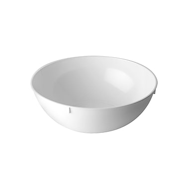 Fineline Settings Platter Pleasers 3502 Serving Bowl, White