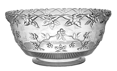 Fineline Settings Platter Pleasers 3512 Clear Punch Bowl