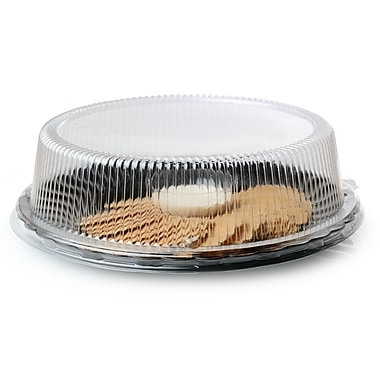 Fineline Settings Platter Pleasers 9210-L Clear Dome PET Lid 10