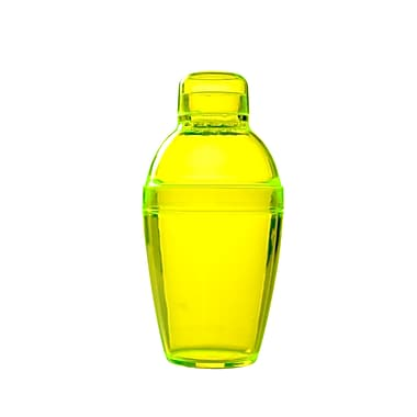 Fineline Settings Quenchers 4101 Neon Cocktail Shaker, Yellow