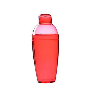 Fineline Settings Quenchers 4103 Neon Cocktail Shaker, Red