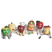 Danya B QBA679 Whimsical Resin Apple People Kitchen Decor