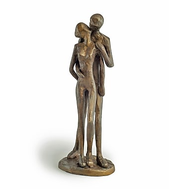 Danya B ZD11075 Couple Kissing Bronze Sculpture