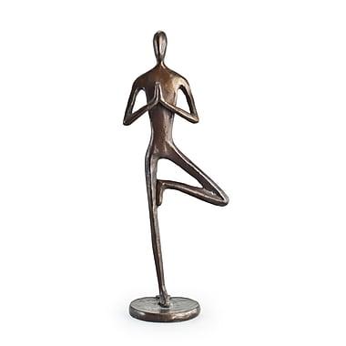 Danya B ZD5792S Yoga Tree Bonze Sculpture